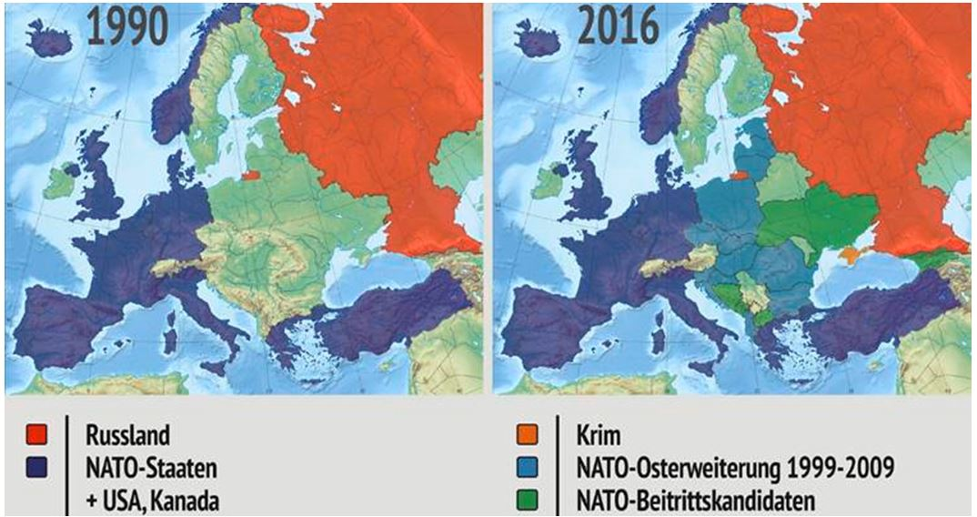 Gewissenlose Eliten hetzen Europa und Russland in einen Krieg